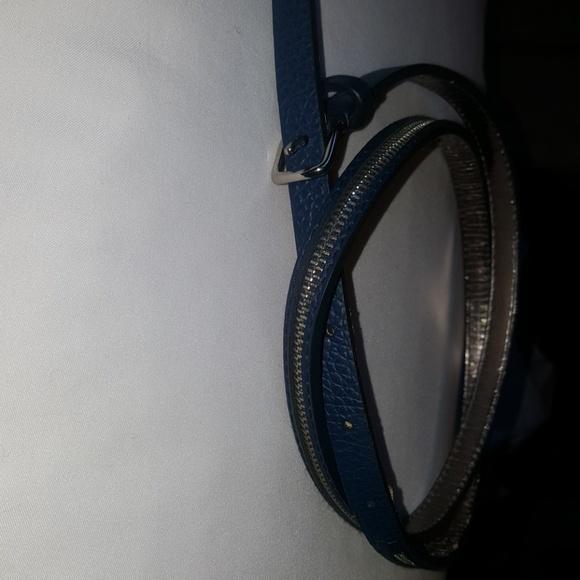 Michael Kors Accessories - Michael Kors womens blue belt